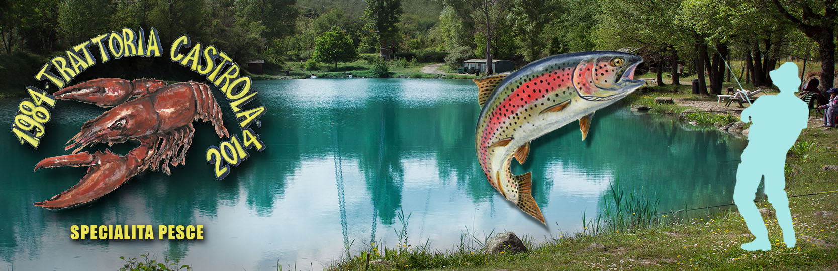 laghi pesca trota